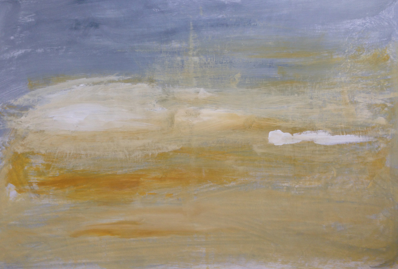Spike l, 2013. Mixed media on canvas. Dim. 80cm x 60cm.