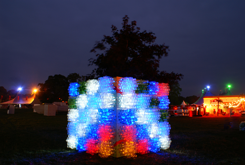 light installation, Stradbally