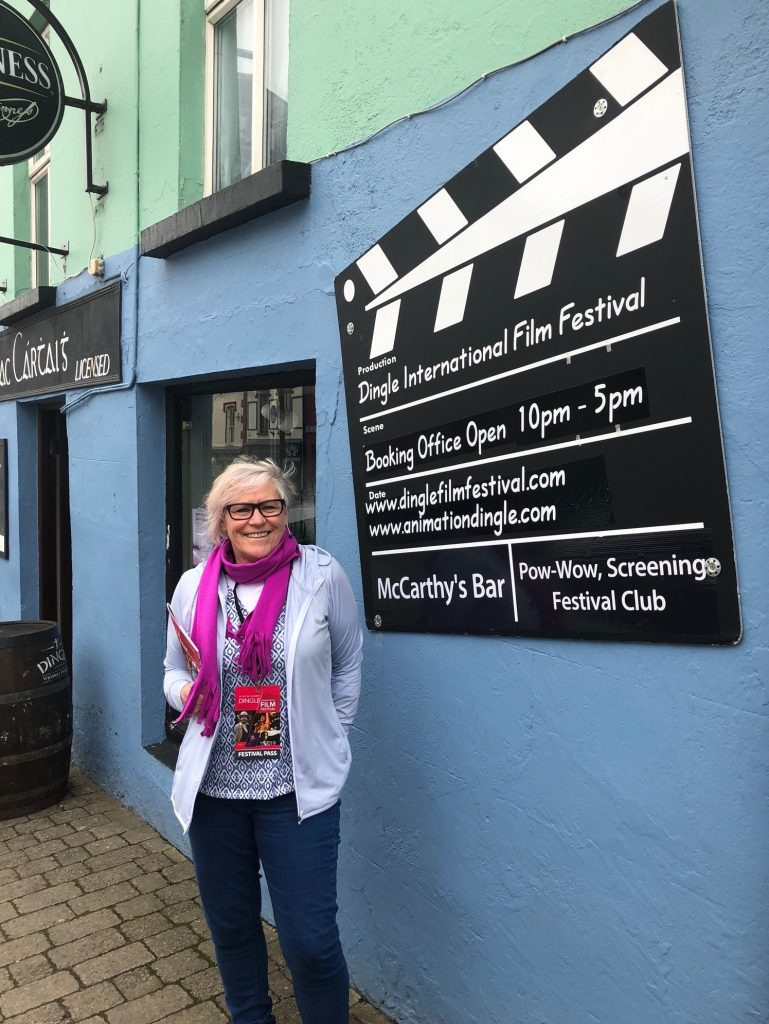 Private invitation to Dingle International Film Festival 2019, public showing Shine film