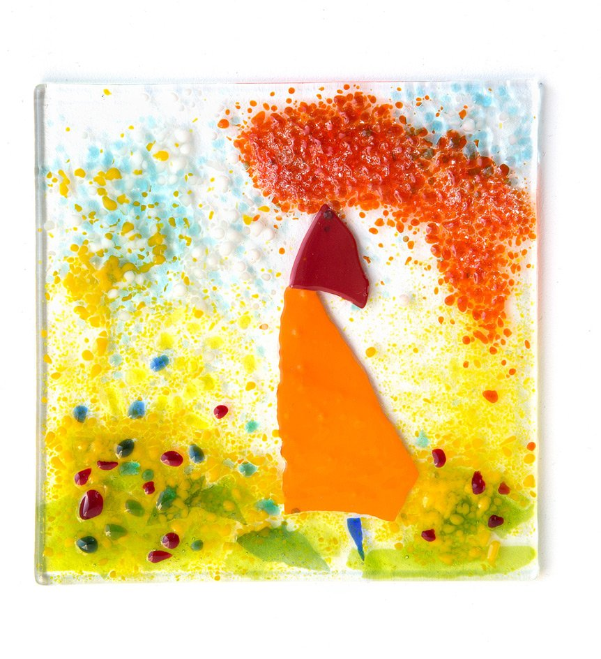 Back soon... fused glass artwork