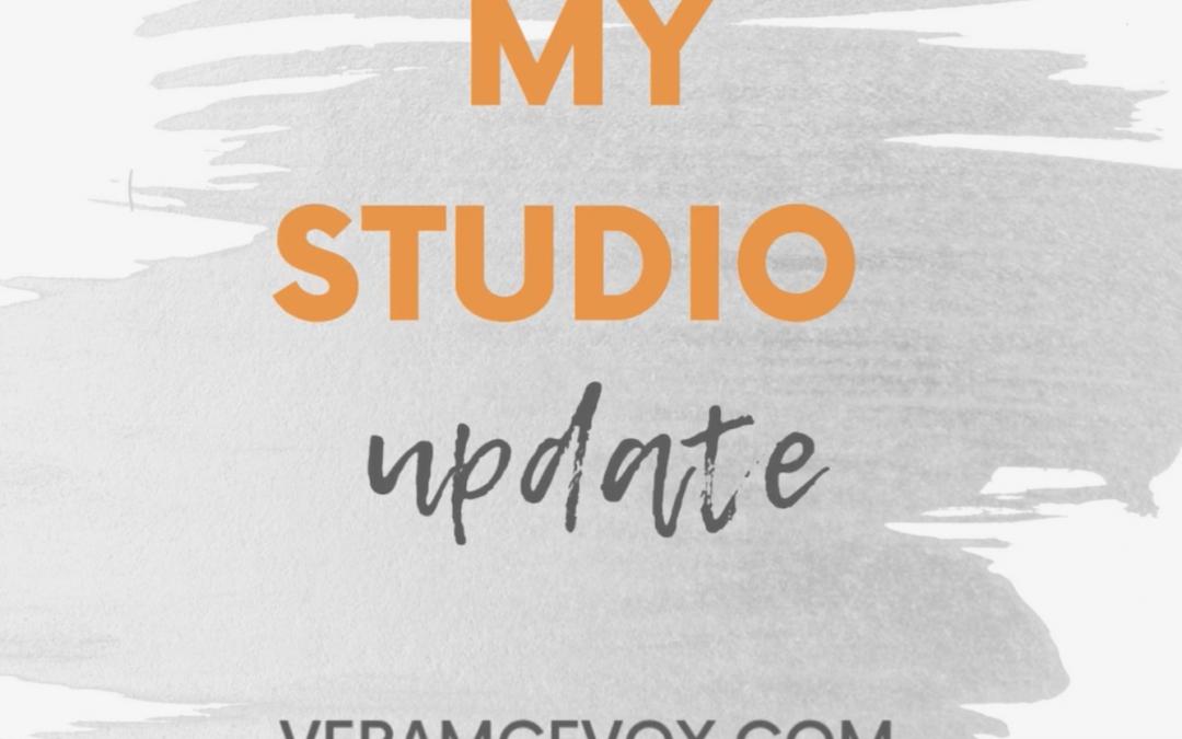 Art studio, new makeover